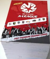 2007 Select A-LEAGUE Soccer - Full Base Set of 130 Cards