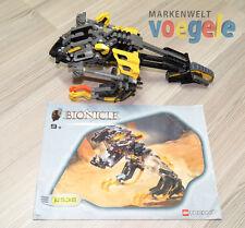 Lego Bionicle™ Technic Set 8538 kane-ra INCOMPLETA AMARILLO técnico