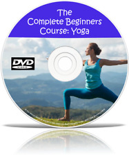 Yoga For Beginners Weight Loss Exercise Workout Fitness Stress Relief DVD Course