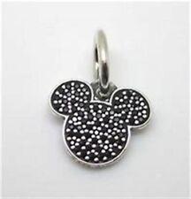 Genuine Pandora Sterling Silver Disney Sparkling Mickey Dangle Charm 791446NCK
