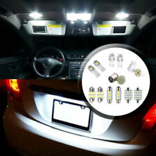 14Pcs LED Car Interior Package Kit For T10 36 41mm Map Dome License Plate Light