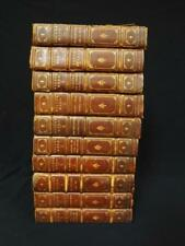 Works of Victor Hugo (10) Volumes Published and Signed by Bigelow and... Lot 518