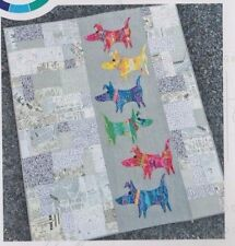 Mod Dog - fun pieced quilt PATTERN - Colourwerx