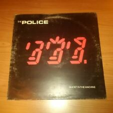 LP THE POLICE GHOST IN THE MACHINE A&M AMLK 63730   VG-/NM ITALY PS  1981 MCZ