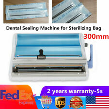 Dental Sealing Machine Sterilizing Bag Sealer Dental Lab Equipment Max 300mm