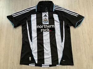 2007 2009 Home Newcastle United Fußball Trikot Football Shirt ADIDAS L #7