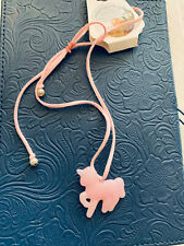 Adjustable Unicorn Necklace On Suede Cord For Kids