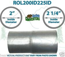 """2"""" ID to 2 1/4"""" 2.25"""" ID Universal Exhaust Pipe to Pipe Adapter Reducer"""