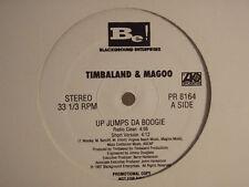 "TIMBALAND & MAGOO - UP JUMPS DA BOOGIE (12"")  1997!!  RARE!!  AALIYAH + MISSY!!!"