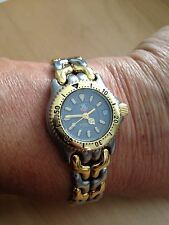 Tag Heuer Gold and Silver Ladies Watch S95 215