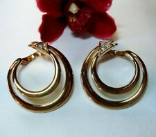 Exquisite Pierre Lang Ohrstecker Ohrhänger Ohrgehänge vergoldet Ohrringe / ck067