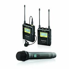 Saramonic UWMIC10 UHF Wireless Lavalier + Handheld Microphone System w/ Lav Mic