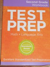 Math Language Arts Workbook Second Grade 2 Test Prep Homeschool Tutor Teachers