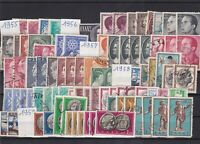 greece 1955-60 mounted mint+ used stamps ref 10376