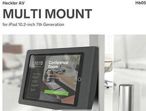 Heckler Design H605-BG Metal Multi Mount Black iPad 10.2 7th Generation Case BN