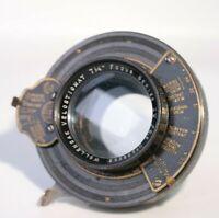 "Wollensak Velostigmat 7 1/4"" F/6.3 Lens Velostigmat Series IV EKC Kodak Shutter"