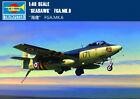 """SEAHAWK"" FGA.MK.6 1/48 aircraft Trumpeter model plane kit 02826"