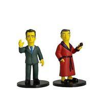 New The Simpsons 25th Anniversary Hugh Hefner and Tom Hanks Mini Figures Neca