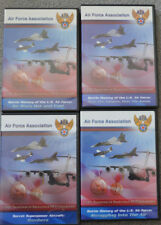 AIR FORCE ASSOCIATION - BATTLE HISTORY OF THE US AIR FORCES DVD LOT - 4 DVDs