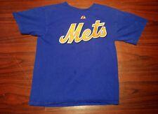 New York Mets Ike Davis YOUTH L Majestic