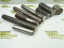 """23LBS ASSORTED SOLID STEEL ROUND STOCK 1"""" TO 2"""" DIAMETERS 316"""