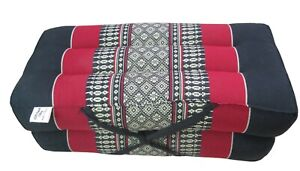 Yoga Meditation Cushion Thai Kapok Pillow Foldable Block Chair Floor Seating Mat