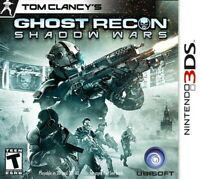 Tom Clancy's Ghost Recon: Shadow Wars - Nintendo 3DS Game Only