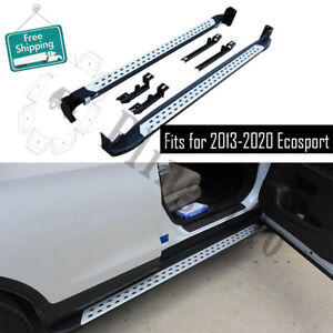 2pc side steps fits for Ford Ecosport 2013-2020 running board nerf bar car pedal