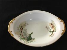 Grace China Wood Lily Oval Serving Bowl