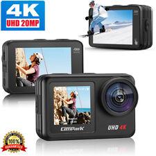 Campark 4K/30FP 20MP Waterproof Sport Action Camera WiFi EIS Video Vlog as GoPro
