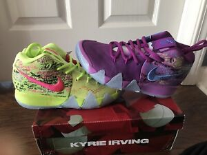 Nike Kyrie 4 Confetti Size 7 Kyrie Irving Basketball Shoes