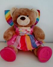 Build a Bear Complete With Rainbow Fairy Costume Excellent Condition