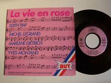 """LA VIE EN ROSE  - 10e ANNIVERSAIRE des magasins BUT 1981 - 7"""" EP CBS ESP 12142"""