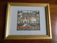 Framed CHARLES WYSOCKI American Folk Art Print GINGER NUT VALLEY 9x11 EXC