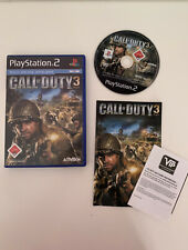 PLAYSTATION PS2 SPIEL * Call of Duty 3 * TOP inkl. Anleitung FSK18