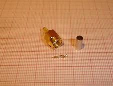 SMA crimp RG174 Stecker (kein RP) gerade