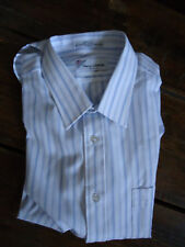 NOS vintage DEADSTOCK mens 80s SMALL COLLAR DRESS shirt 16 1/2  PIERRE CARDIN