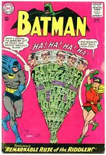Batman #171 1965- 1st Silver Age Riddler- DC Comics VG