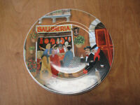 """TUSCAN STOREFRONTS Guy Buffet Germany Dinner Plate 11"""" SALUMARIA  2 available"""