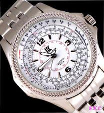 Relojes de pulsera Clásico de plata para hombre