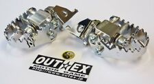 Foot Pegs Pivot BMW F650GS F700GS F800GS  WIDE Pegs  OUTEX.F-PEG