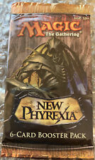 1x Magic The Gathering New Phyrexia 6-card Booster MTG RARE Sealed Product