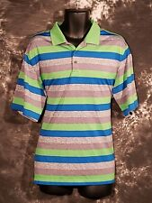 Men's Walter Hagen Polo Golf Shirt Striped Extra Large XL New Without Tags NWOT