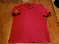 St. Andrews + Wilson Old Course 2005 Open Red Polo Golf Shirt 134th Open Polo L