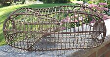 Antique Wire Cage Live Catch Mouse Trap Mousetrap Victorian Trap Door Primitive