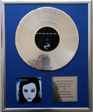 """Evanescence Fallen CD Cover + 12 """" Vinyl goldene /platin Schallplatte"""