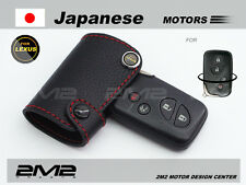 Leather Key fob Holder Case Chain Cover For Lexus IS ES GS LS RX 200 240 250 300