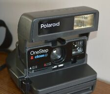 preowned Polaroid One step closeup camera with carry strap & camera case