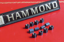 Hammond Organ XB2 and XB5 keyboard rubber keyguides x12