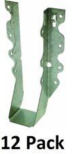 12 Pack Simpson Strong Tie Lu28 20 Gauge Steel 2 X 8 Face Mount Joist Hangers